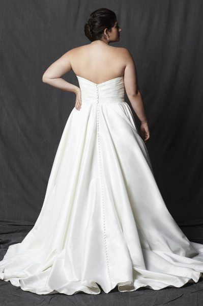 Classic A-line Dress by Michelle Roth - Image 2