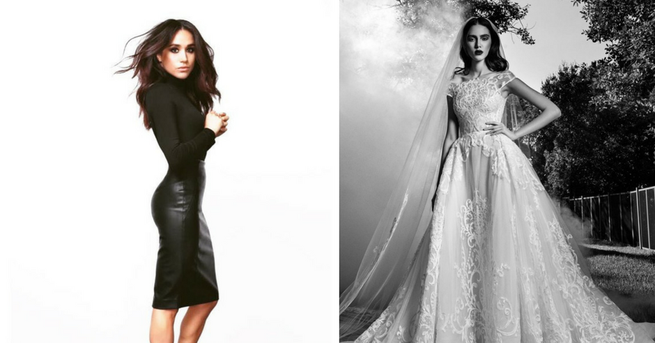 5 Wedding Dresses Perfect for Meghan Markle