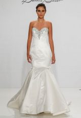 Classic Fit And Flare Wedding Dress by Dennis Basso - Image 1