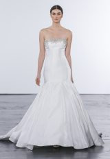 Classic Mermaid Wedding Dress by Dennis Basso - Image 1
