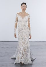 Romantic Fit And Flare Wedding Dress by Dennis Basso - Image 1