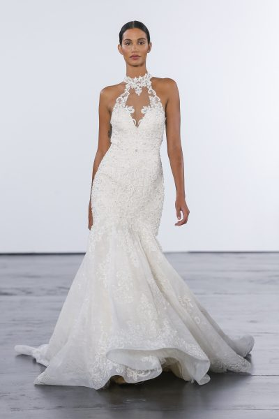 Sexy Mermaid Wedding Dress by Dennis Basso - Image 1