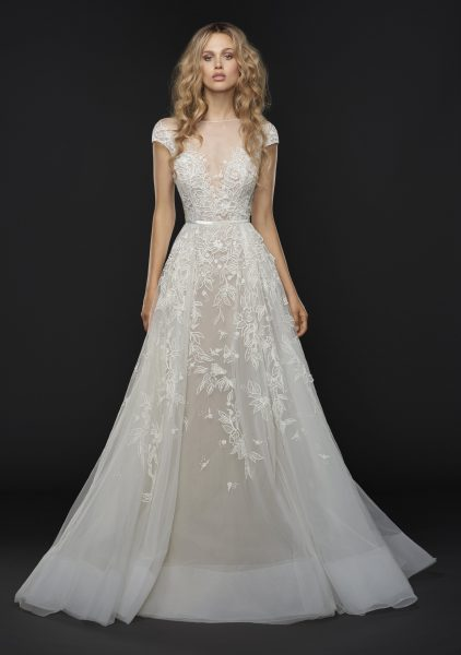Romantic ball gown wedding dress kleinfeld bridal for Hayley paige wedding dress