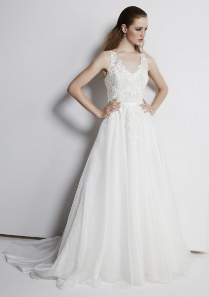 Classic Ball Gown Dress by Henry Roth - Image 1