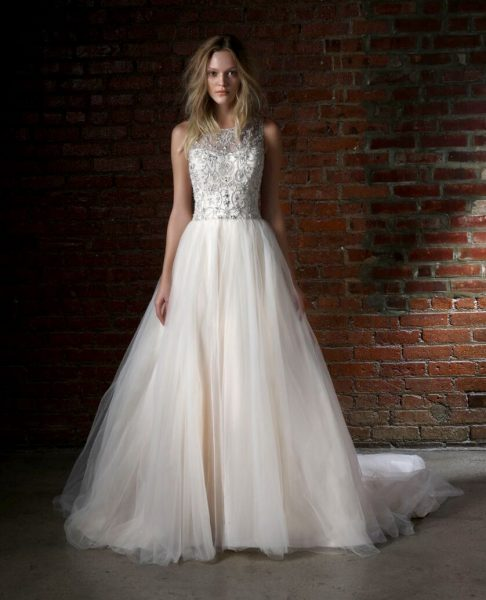 Romantic Ball Gown Dress by Henry Roth - Image 1