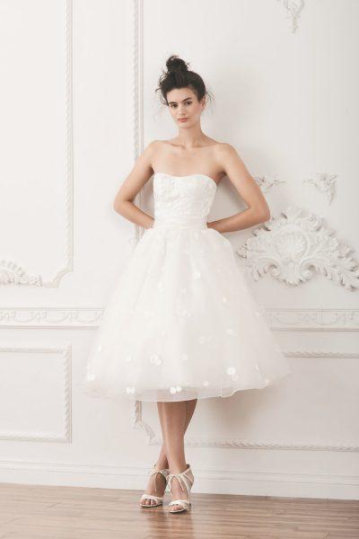 Polka Dot Wedding Dress Kleinfeld