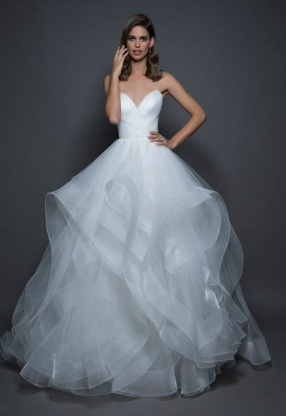 Clic Ball Gown Wedding Dress By Love Pnina Tornai Image 1