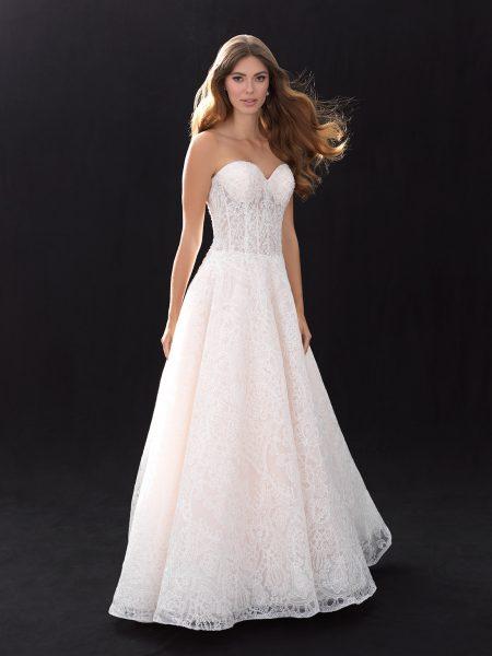Romantic Sweetheart Natural Waist 33709726 Wedding Dress Classic