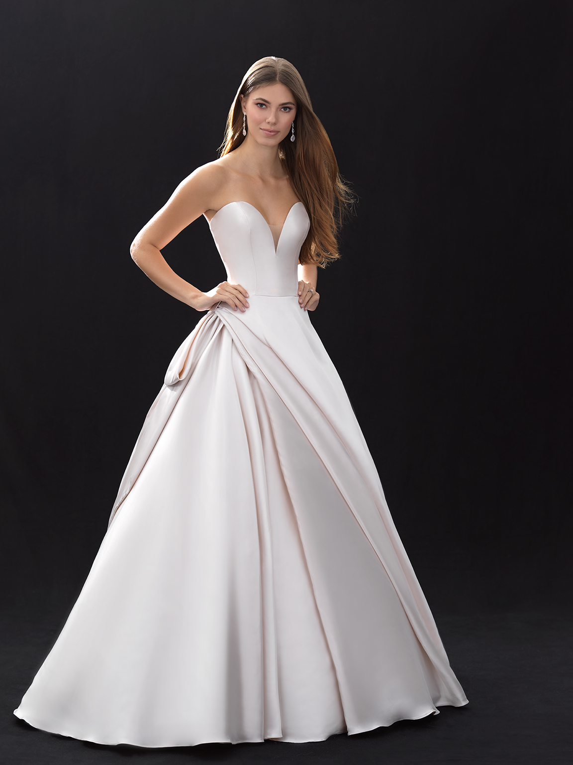 Style MJ402 33709734 Classic Ball Gown Wedding Dress By Madison James