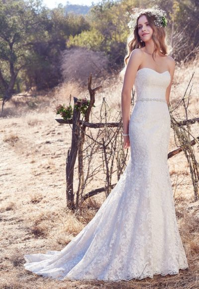Bohemian Scoop Simple by Maggie Sottero