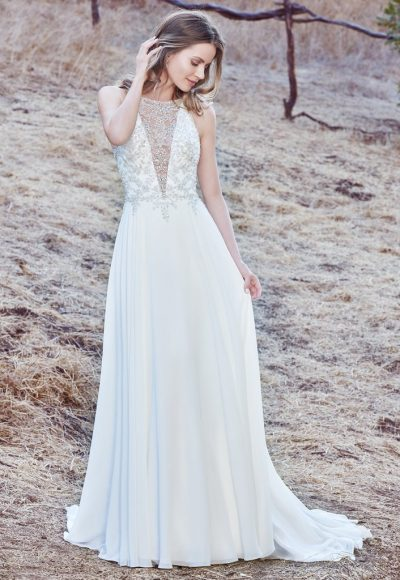 Bohemian V-neck Modern by Maggie Sottero