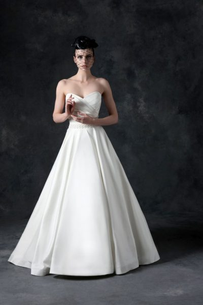 Classic A-line Dress by Michelle Roth - Image 1
