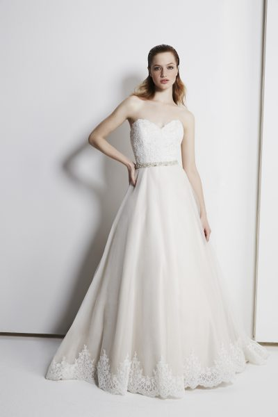 Modern Ball Gown Dress by Michelle Roth - Image 1
