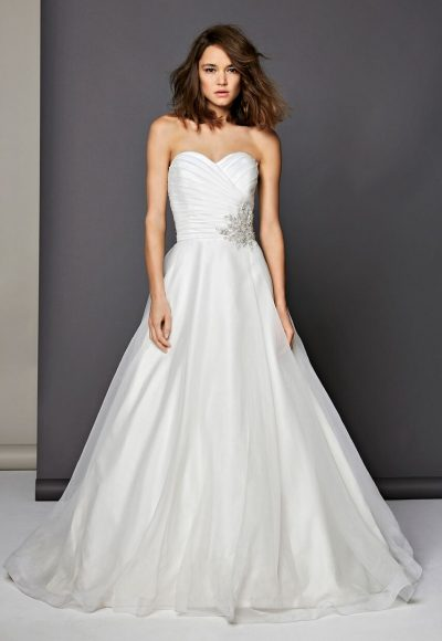 Romantic Ball Gown Dress by Michelle Roth