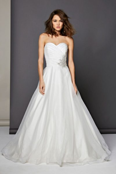 Romantic Ball Gown Dress by Michelle Roth - Image 1