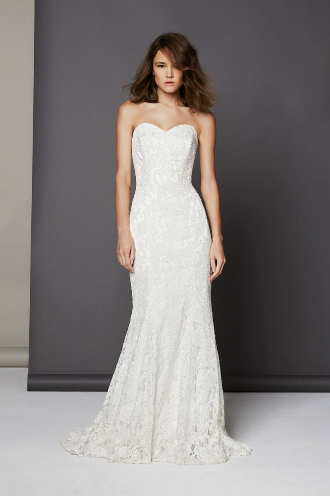 Romantic Fit And Flare Dress by Michelle Roth - Image 1