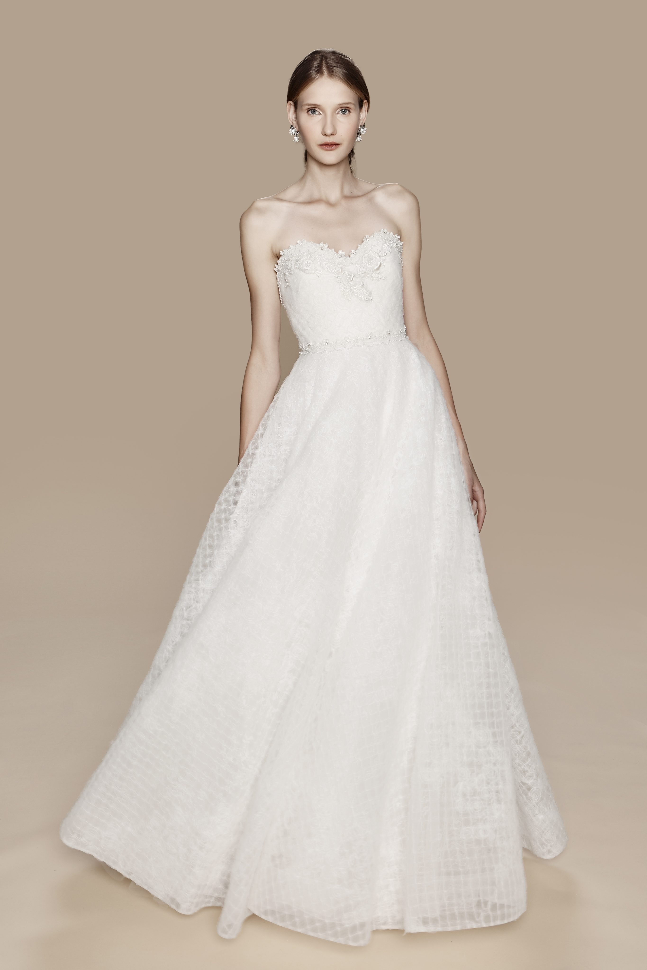 Classic sweetheart couture kleinfeld bridal for Marchesa wedding dress sale