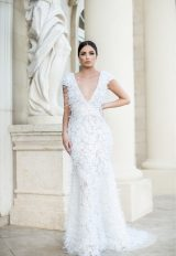 Sexy V-neck Romantic by Pedram Couture - Image 1