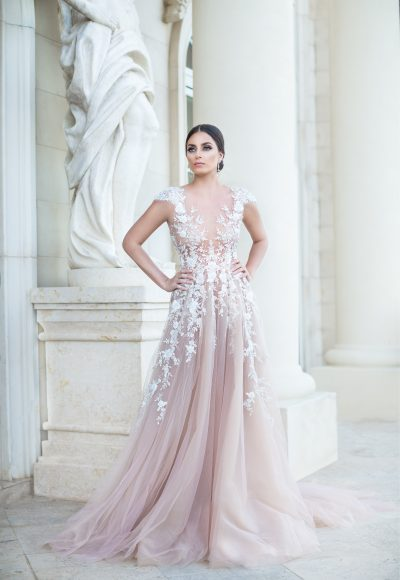Trendy Illusion Romantic by Pedram Couture
