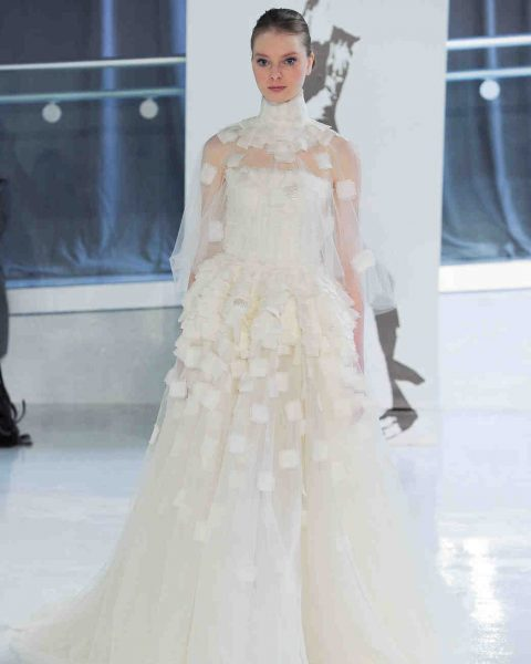 Couture High Neck Modern | Kleinfeld Bridal