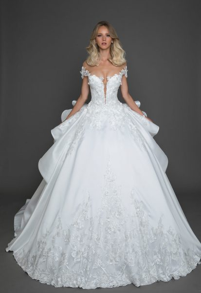 Sexy Ball Gown Wedding Dress By Pnina Tornai