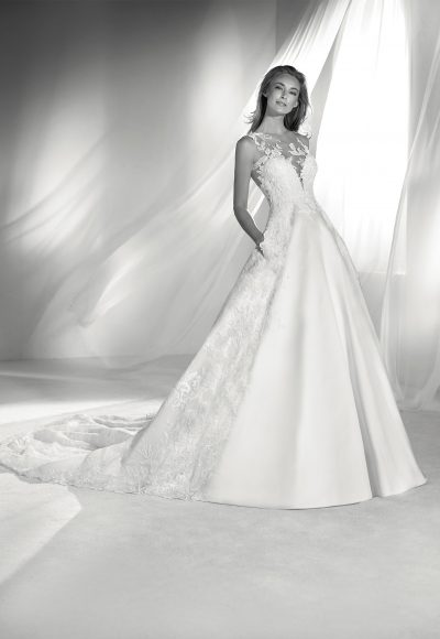 Classic A-line Wedding Dress by Pronovias