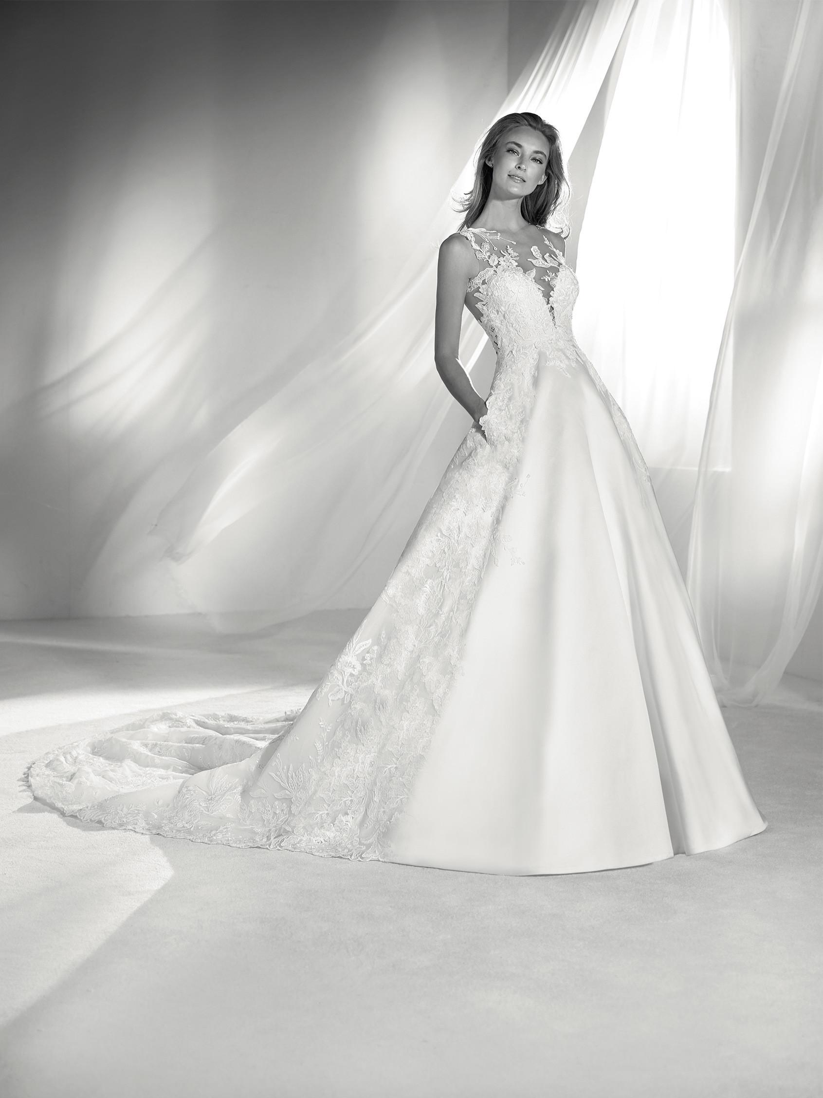 Classic A Line Wedding Dress Kleinfeld Bridal