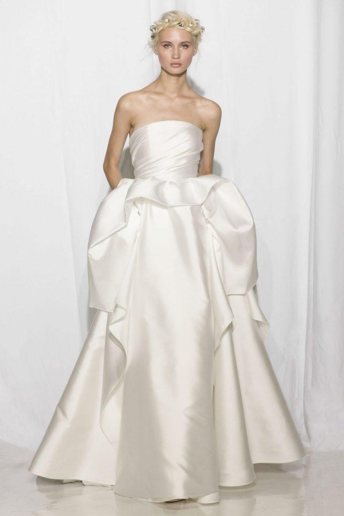 Reem Acra sheath gown