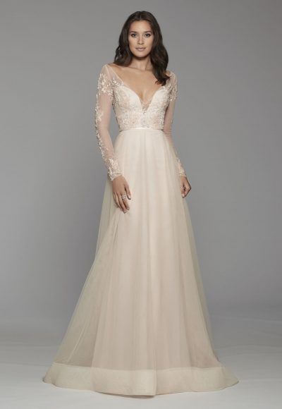 Image result for Lace Gown With Deep V-Illusion Neckline banner