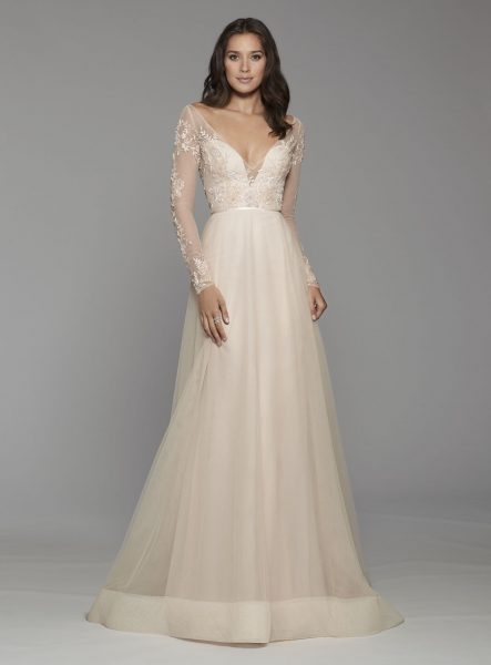 33708405 Bohemian A-line Wedding Dress