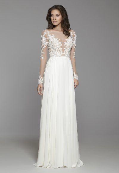 33710302 Romantic A-line Wedding Dress by Tara Keely