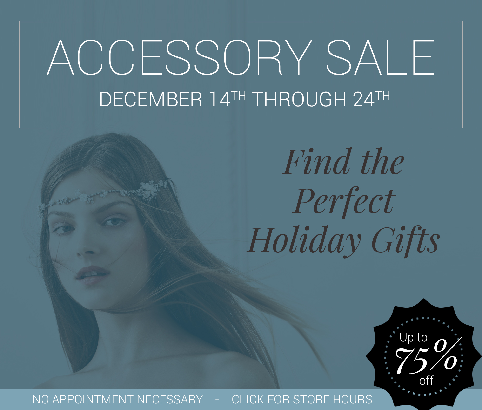 Accessory sale header