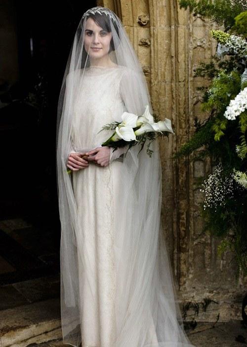 Downton Abbey Mary Wedding