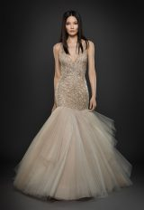 Romantic Fit And Flare Wedding Dress by Lazaro - Image 1