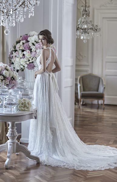 Romantic A-line Wedding Dress by Maison Signore - Image 1