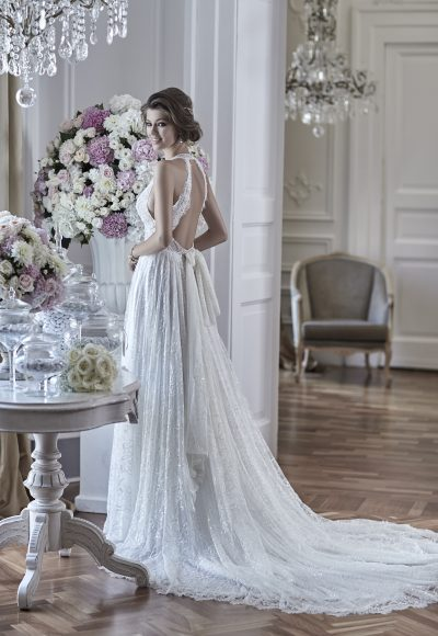 Romantic A-line Wedding Dress by Maison Signore