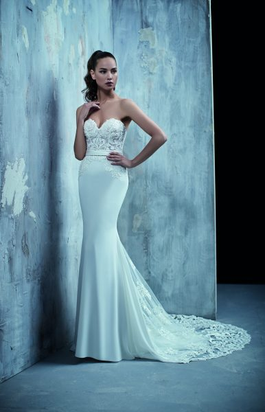 Sexy Fit And Flare Wedding Dress by Maison Signore - Image 1