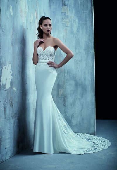 Sexy Fit And Flare Wedding Dress by Maison Signore