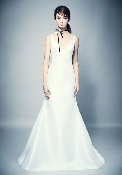 Classic Fit And Flare Wedding Dress by ROMONA New York - Image 1