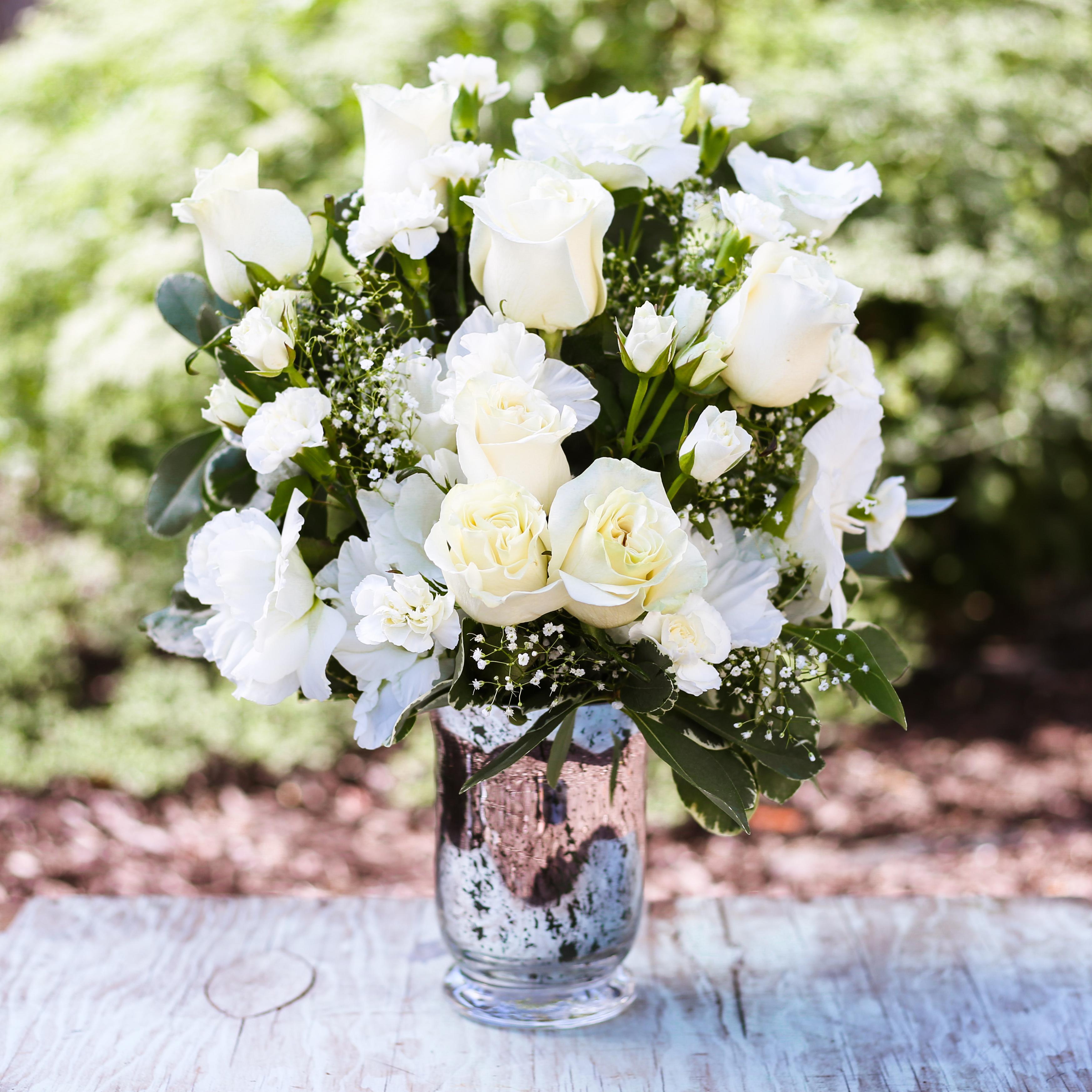 Teleflora white bouquet