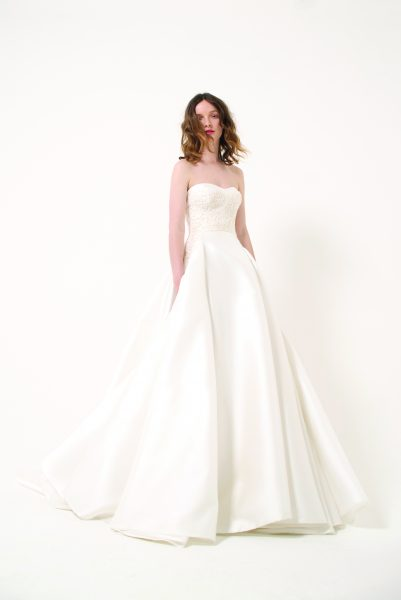 Classic Ball Gown Wedding Dress by Giovanni Clemente - Image 1