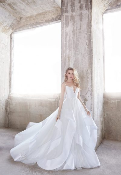 Romantic Ball Gown Wedding Dress by Hayley Paige