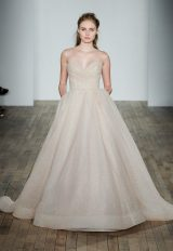 Classic Ball Gown Wedding Dress by Lazaro - Image 1