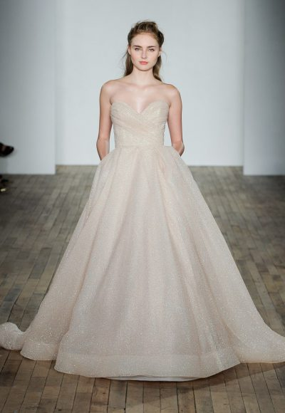 Classic Ball Gown Wedding Dress by Lazaro