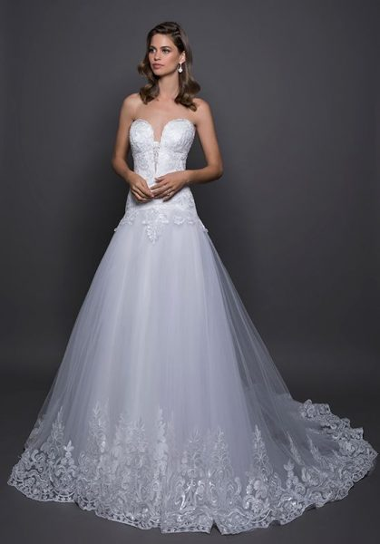 Sexy A-line Wedding Dress by Love by Pnina Tornai - Image 1