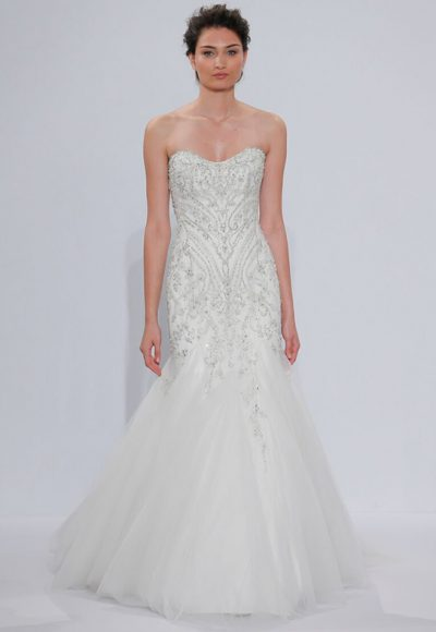 Classic Mermaid Wedding Dress by Randy Fenoli