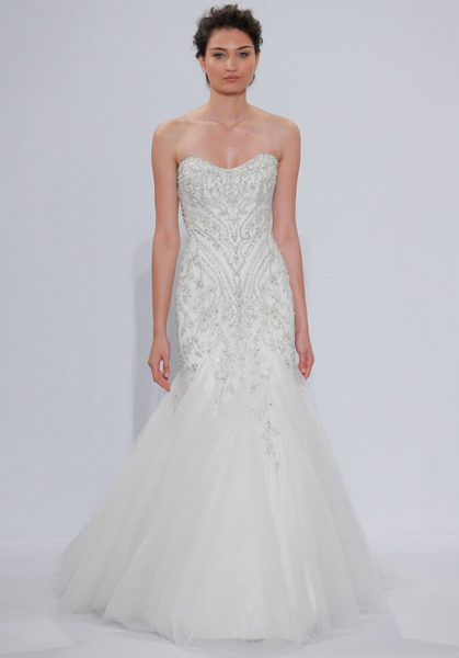 Classic Mermaid Wedding Dress by Randy Fenoli - Image 1