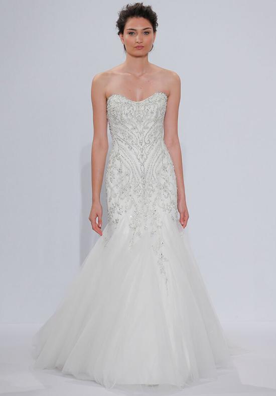 Classic mermaid wedding dress kleinfeld bridal for Kleinfeld wedding dresses with sleeves