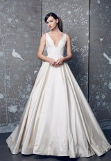 Classic Ball Gown Wedding Dress by Romona Keveza - Image 1