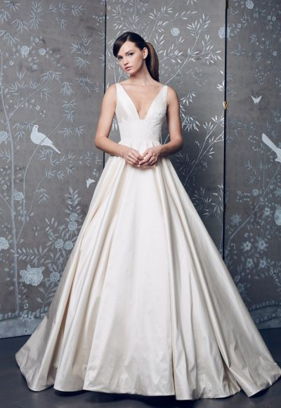Classic Ball Gown Wedding Dress by LEGENDS Romona Keveza
